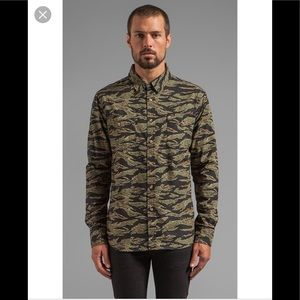 Obey Field Assassin Camouflage Button Down